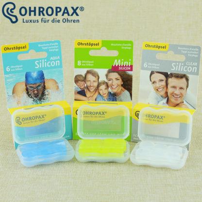 Беруши силиконовые Ohropax Silicon Clear